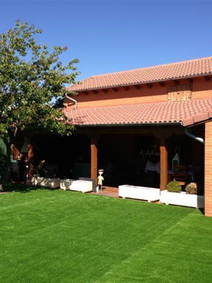 Cesped natural y cesped artificial jard n e instalaci n - Cesped natural ...