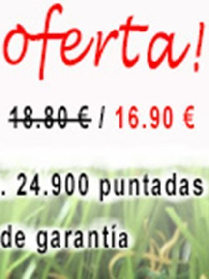 OFERTA CÉSPED ARTIFICIAL LIMA 30