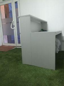 cesped artificial instalado en un gimnasio de barcelona