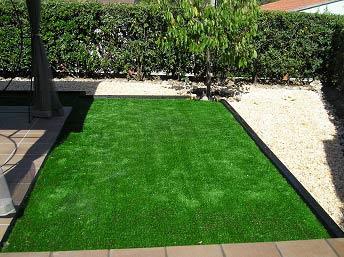 instalación cesped artificial lima 40 en terraza