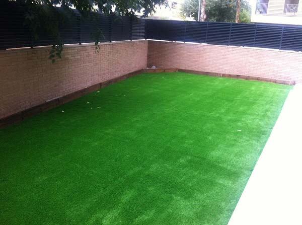 instalación cesped artificial prado 40 y Barcelona