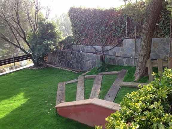 jardín e instalación cesped artificial lima 30