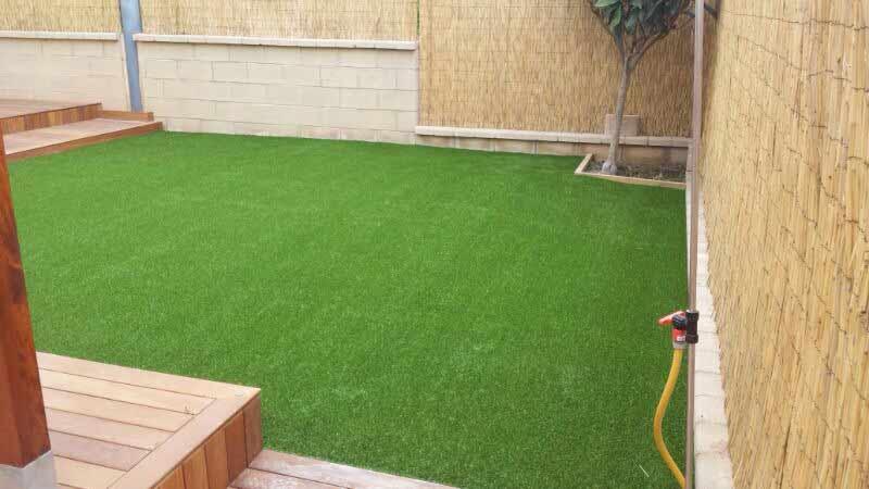 jardín e instalación cesped artificial lima 40