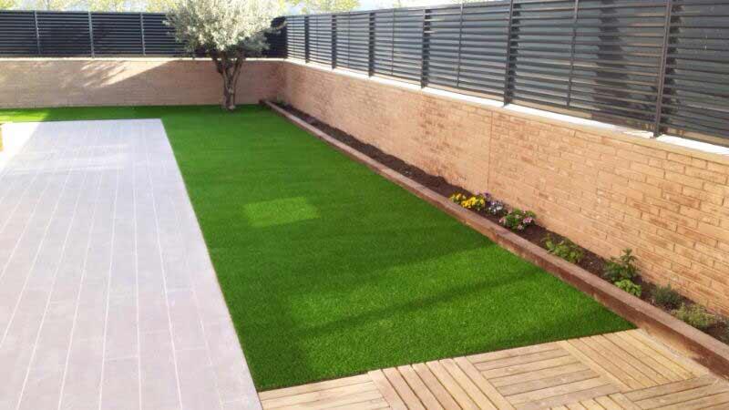 jardín e instalación cesped artiifcial supreme