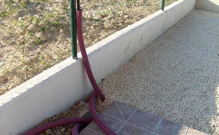 nuestra instalación cesped artificial prado 40 sobre tierra