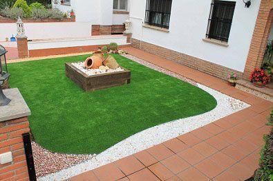 terraza e instalación cesped artificial lima 30