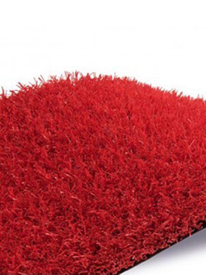 cesped artificial de color barato modelo red