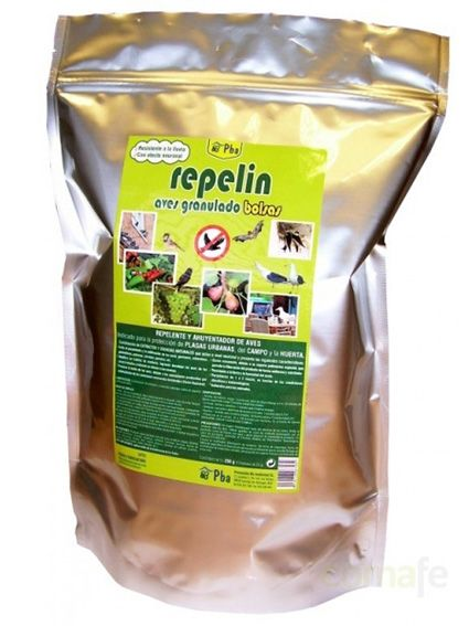 repelin aves cesped artificial