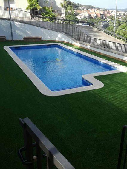 Cesped artificial barcelona piscina y modelo barato soft - Cesped artificial barcelona ...