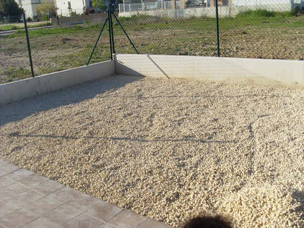 cesped artificial barcelona preparar terreno