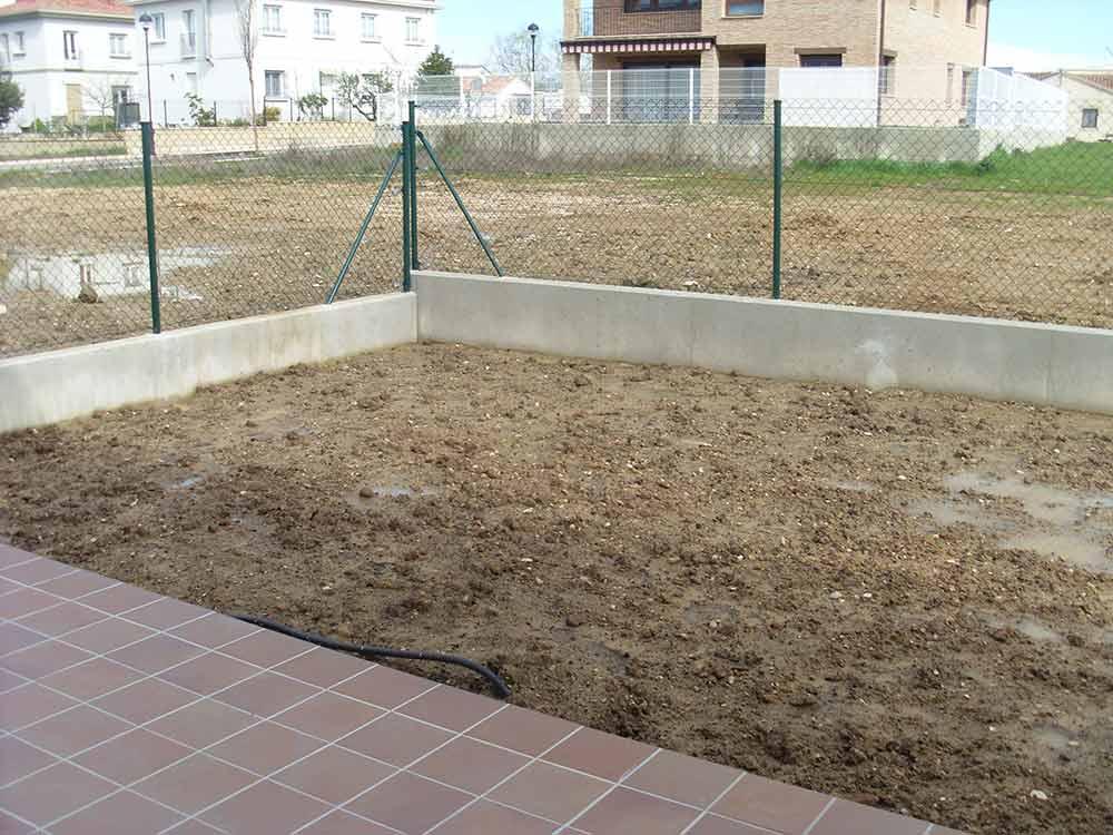 preparar terreno cesped artificial barcelona