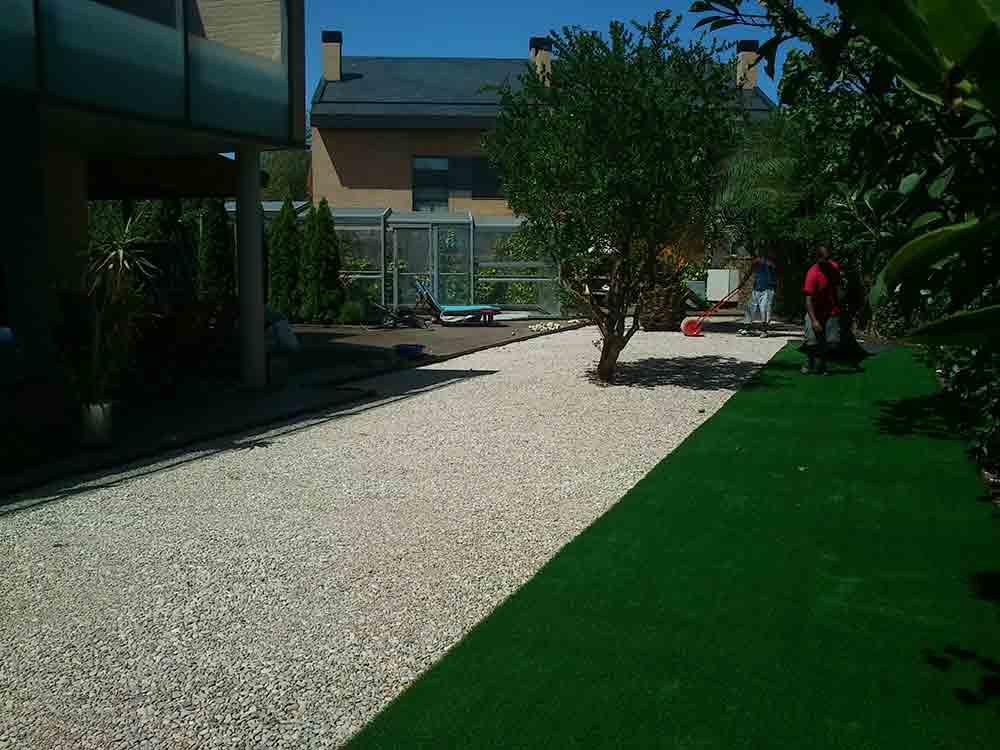 cesped artificial Girona