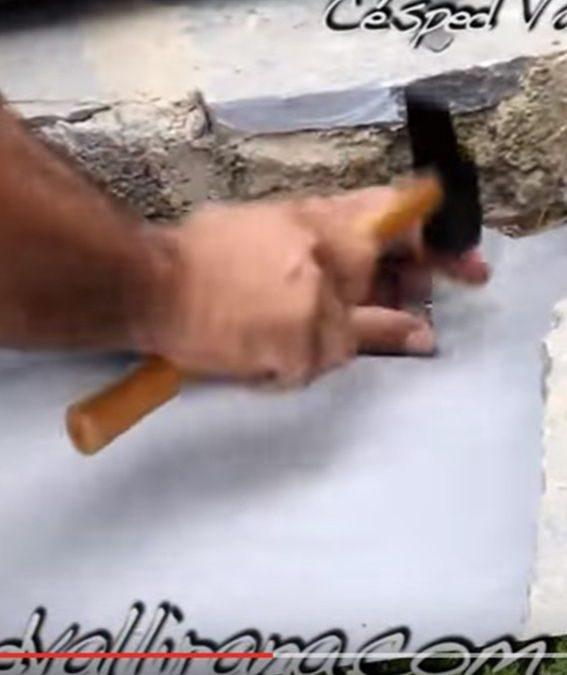 como podemos colocar nuestra malla para cesped artificial