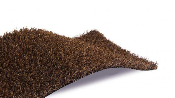 Cesped artificial dark brown