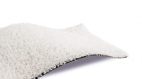cesped artificial white