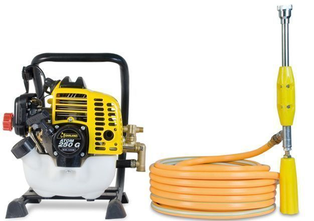 fumigador a gasolina atom 250 ideal para cesped artificial