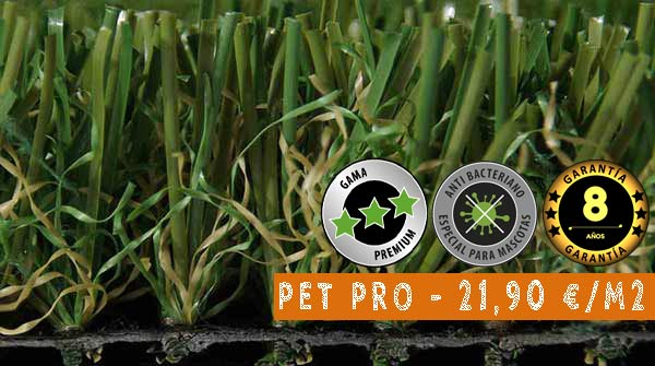 cesped artificial pet pro