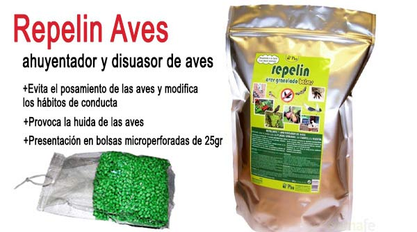 Repelin aves