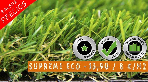 cesped artificial supreme eco