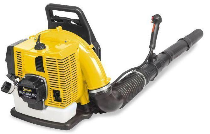 soplador de mochila a gasolina ideal para cesped artificial