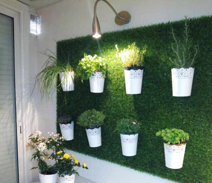 Blog cesped artificial jard n vertical cesped artificial for Jardin artificial interior