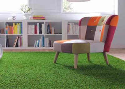Cesped artificial para interiores