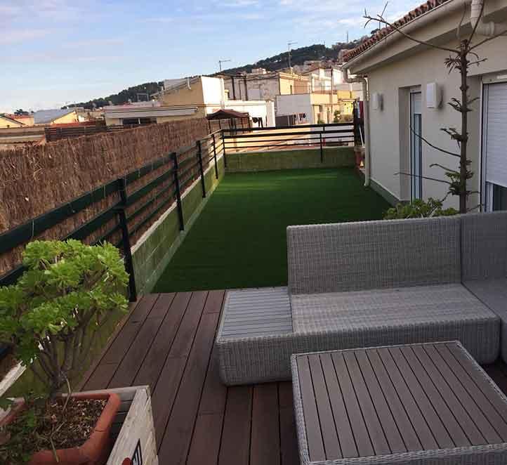 Cesped artificial para terrazas c spedvallirana - Cesped artificial para terrazas ...