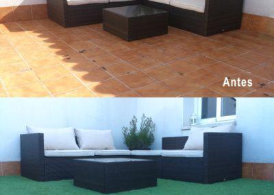 Cómo darle un nuevo aspecto a tu terraza o jardín con un bajo coste.